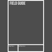 Field Guide Overlay
