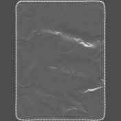 Clear Plastic Pocket- Rounded Rectangle- 3x4