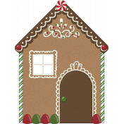 Home for the Holidays- Gingerbread House