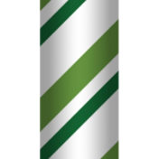 Home for the Holidays- Green Candy Cane