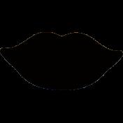 silhouette lips