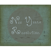 New Year New Day_New Years Resolution