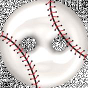 ALS Baseball Button