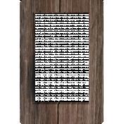 3D Wood Frame