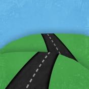 Cars Paper (road2)