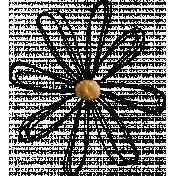 Scribble Flower 02
