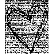 Scribble heart
