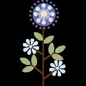 Modern Flower 01