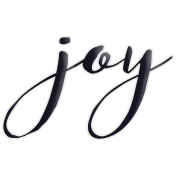 Happy Word Art Joy