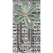 Flower Paper Clip 03