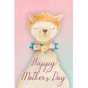 Mama Llama Journal Card (04)