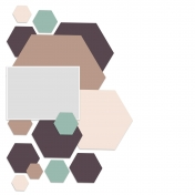 Hexagon Page Template (03)