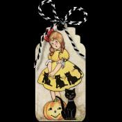 Vintage Halloween Tag (01)