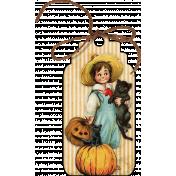 Vintage Halloween Tag (02)