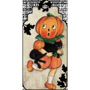 Vintage Halloween Tag (05)