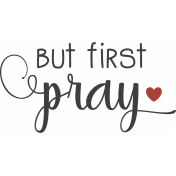 Fall In Love Stamp (but first pray)