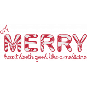 Holiday Magic Stamp (a merry heart)
