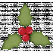 Holiday Magic Stamp (holly)