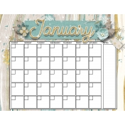 Snowhispiers Calendar (January)
