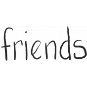 Bearly Spring word art (friends)