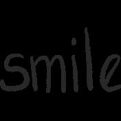Bearly Spring word art (smile)