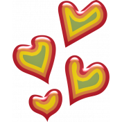 Pretty Bird Hearts (02)