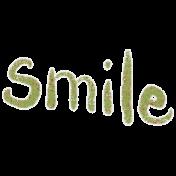 Pretty Bird Word Art (smile)