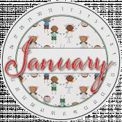 Kumbaya Calendar (January)