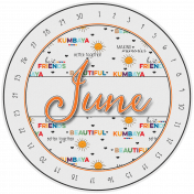 Kumbaya Calendar (June)
