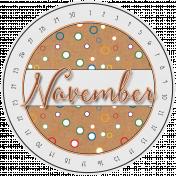 Kumbaya Calendar (November)