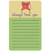 Owl Always Love You Journal Card (01)