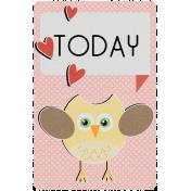 Owl Always Love You Journal Card (04)