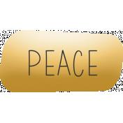 Softly Spoken: peace