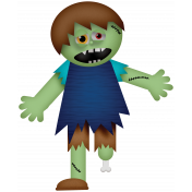Halloween Mix And Match Pack 01- zombie