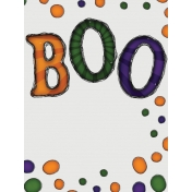 Halloween Mix and Match Journal Card 07