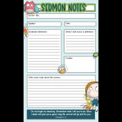 Sermon Notes for Kids 03