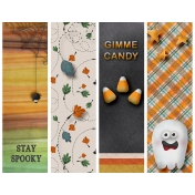 A Night in October Bookmarks