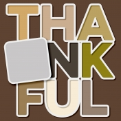 Thankful Layout Template (Thankful)