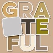 Thankful Layout Template (Grateful)