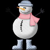Christmas Cuties Mini- snowman 01