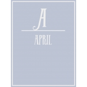 Calendar Pocket Cards Plus- april 02