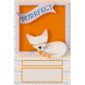 Everyday Is Caturday (Journal Cards)- Journal Card 02