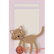 Everyday Is Caturday (Journal Cards)- Journal Card 03