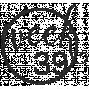 52 Weeks Stamps- Stamp 39
