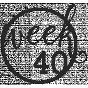 52 Weeks Stamps- Stamp 40