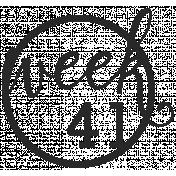 52 Weeks Stamps- Stamp 41