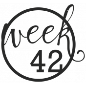 52 Weeks Stamps- Stamp 42
