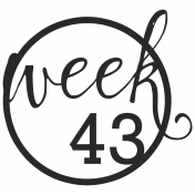 52 Weeks Stamps- Stamp 43