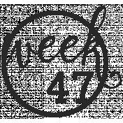 52 Weeks Stamps- Stamp 47