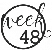 52 Weeks Stamps- Stamp 48